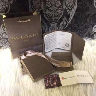 Bvlgari Full set accessories box