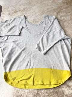 COS 100% cotton top