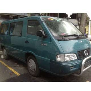 Mercedes Benz MB100 Van for RM25,000 !