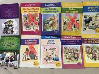 7x Enid Blyton Books