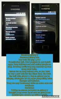 Samsung galaxy ace & Samsung galaxy y