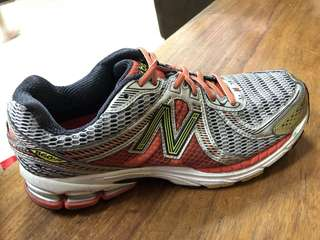 New Balance Orange Men'S Silver Road Running