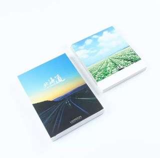 (Instock) Road Trip postcards - Hokkaido, Japan