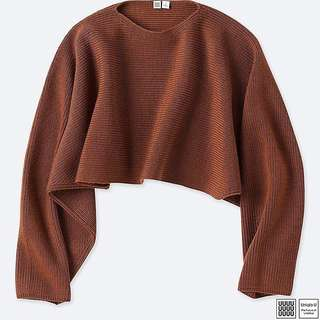 Uniqlo Lamaire Lambswool Cropped Sweater