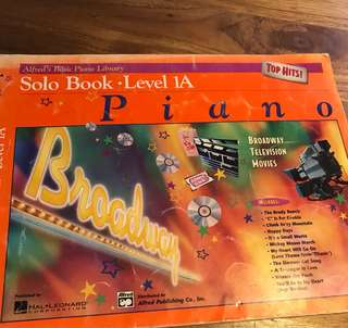 Piano books level 1