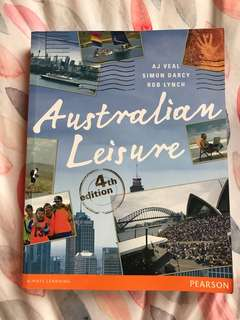 Australian leisure textbook