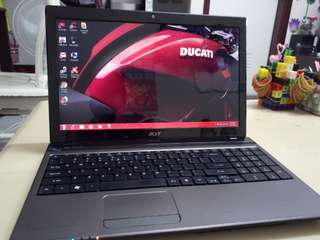 Acer i5/win7/4Gb/750Gb hdd/15.6inch