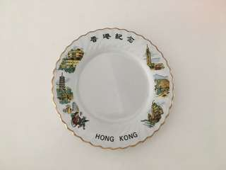 Hong Kong plate for photo