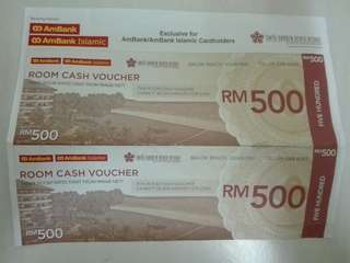 Cash Voucher Hotel Swiss Garden Beach Resort Kuantan