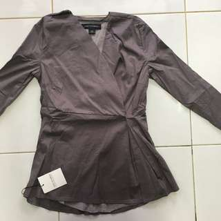 LtD Side Peplum Blouse