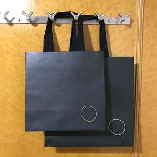 Amorepacific paper bag 粗布帶手挽好好拎 原裝名牌紙袋