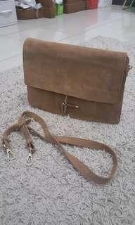 Mango Brown Handbag