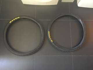 """$30 for both! Maxxis tires 2.35 23"""""""