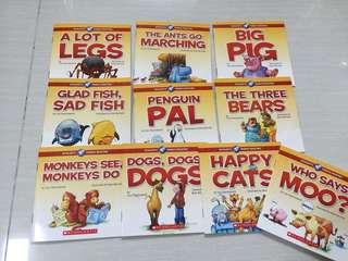 Phonics Scholastic books