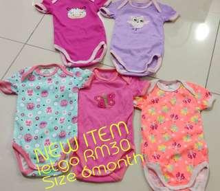 Baby Romper 5in1
