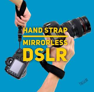 Handstrap for DSLR and mirrorless cameras a6000 a6500 accessories