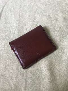 Penguin Leather Cardholder