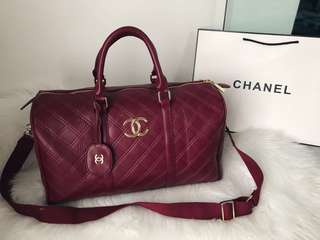 CHANEL DUFFLE TRAVEL BAG