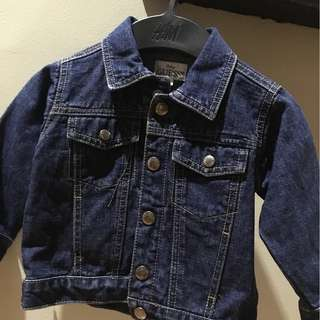 Branded denim jackets for kids