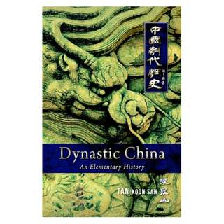 Dynastic China: An Elementary History (Hard Cover)