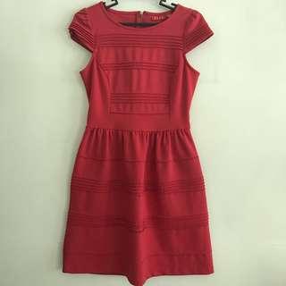 Red Elle Dress