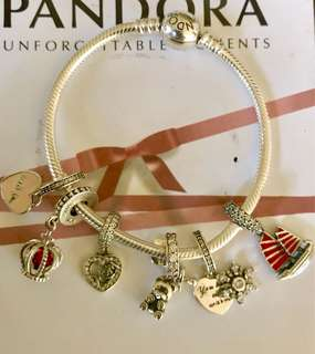 Charms and bracelt