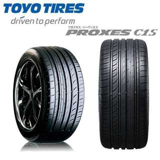 TOYO TYRE PROXES C1S MADE IN JAPAN