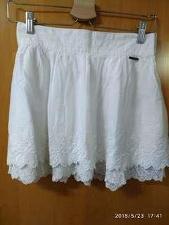 美國A&F White Skirt new 好靚質地好柔軟舒服已經絕版