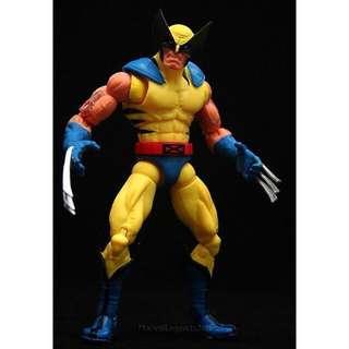 💯 BN Marvel Legends Wolverine - BAF Yellow Red Hulk Edition