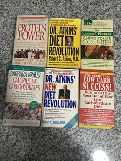 5 Diet Health books