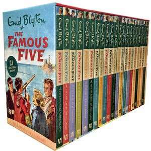 eBook - The Famous Five 21 Book Set by Enid Blyton
