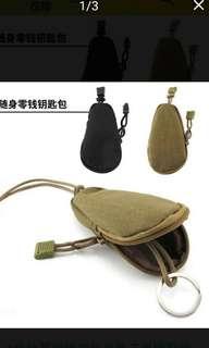 戶外軍迷鑰匙包通勤裝備包迷彩戰術附件包零錢包