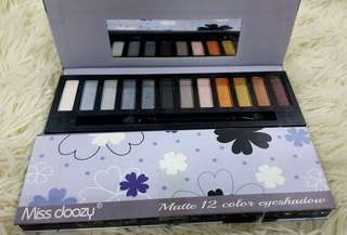MISS DOOZY MATTE 12 COLOR EYESHADOW