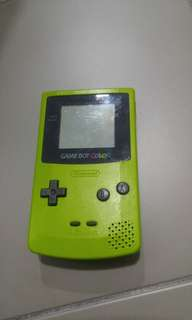 Nintendo Gameboy Color vintage and fully working!