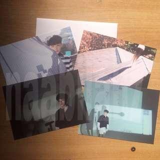 woozi postcards