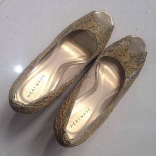 Heatwave Wedge Lacey Sandals