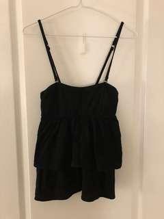 Tiered black top