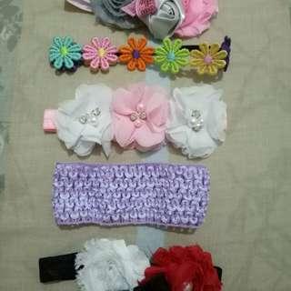 Headbands for newborn (take all)