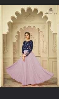 Long Dress - Lilac (Instock)