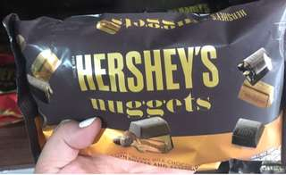 Hershey's chocolate nuggets