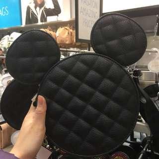 Disney 米奇 Micky 斜背袋 小包