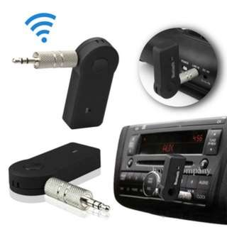 (87)Bluetooth Music Audio Stereo Adapter Receiver for Car AUX IN Home Speaker MP3