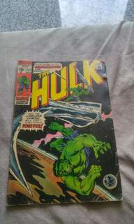 Silver Age Marvel Comics Incredible Hulk 137