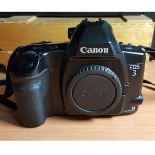 Canon EOS 3 with Box and EOS Neck Strap (Near Mint)