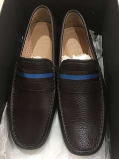 Brand New Brown Bally Loafers mens size 38