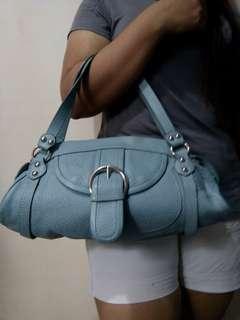Casual Blue Shoulder Bag