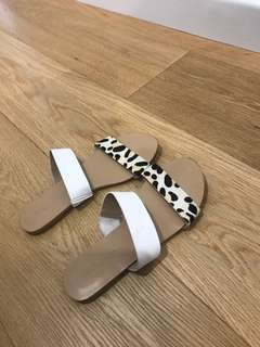 Billini Leopard Slides