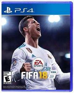 PS4 Fifa 18 R3 Asia Standard Edition