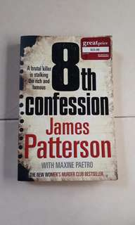 8th Confession - James Patterson