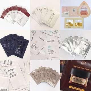 🈹大量護膚品skin care sample